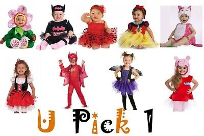 Dress Up Baby Kostüme (Halloween Costume Dress Up Play Baby Infants Toddler Girls Pretend Trick Treat)