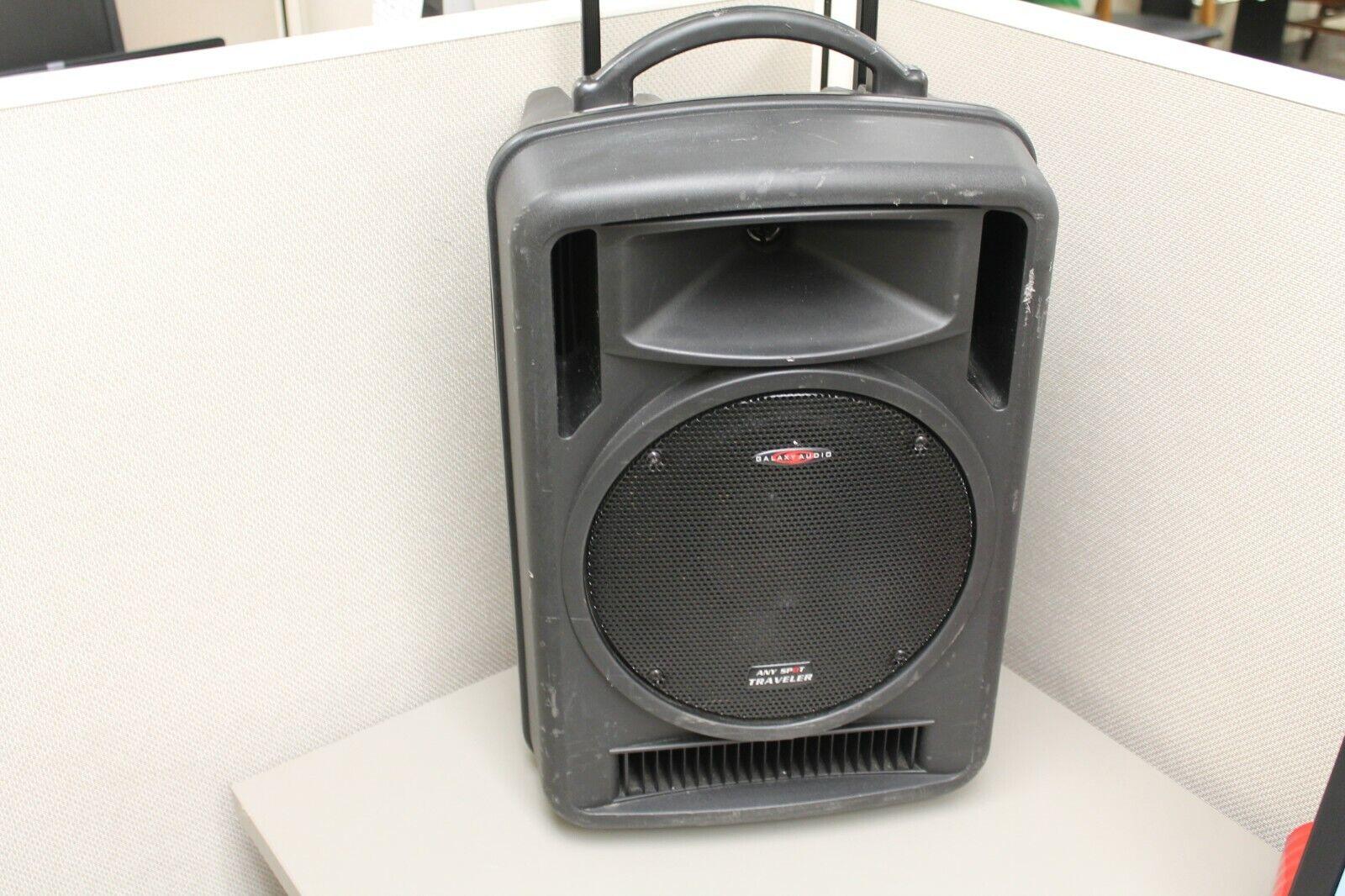 "Galaxy Audio TV10 Any Spot Traveler 10"" Portable PA System A"