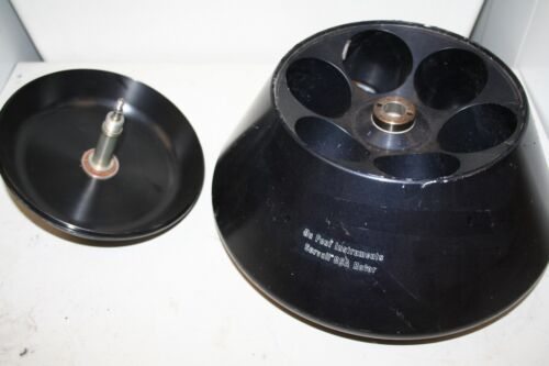 SORVALL Dupont GSA CENTRIFUGE ROTOR 6 positions