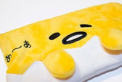 GENUINE Sanrio Gudetama Pencil Case Zipper Bag with Strap, NWT US SELLER