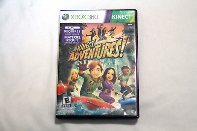 Used, Kinect Adventures XBOX 360 Motion Sensor Video Game for sale  Moncton