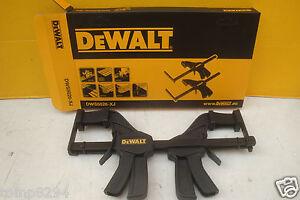 PAIR OF DEWALT DWS5026 DWS520 PLUNGE SAW GUIDE RAIL CLAMPS
