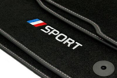 Velour Fußmatten Satz für Renault Captur Passgenau - Premium Qualität ab 13