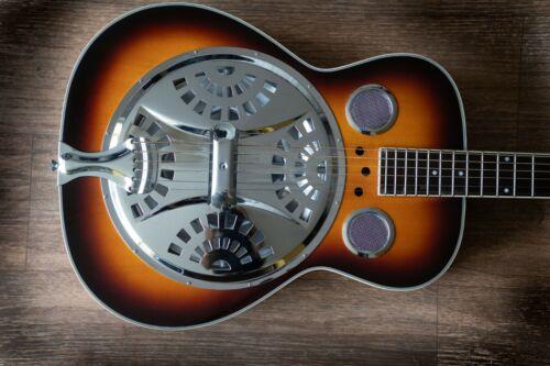 Vintage VRA400VSB  Acoustic Resonator Guitar.
