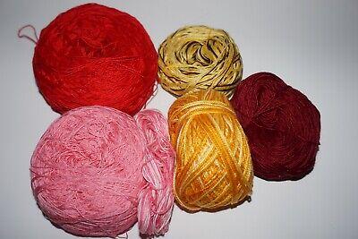 9.5 oz. Lace weight, Cotton, Crochet/Knitting/Tatting Yarn/Thread Lace Weight Knitting Yarn