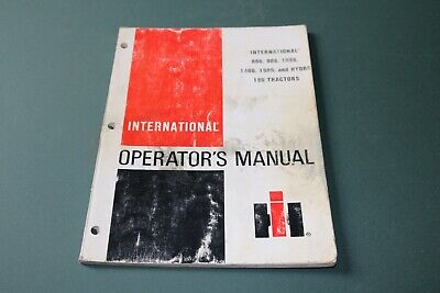 International Models 886986108614861586hydro 186 Tractors Operators Manual