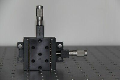 Newport 460a X-y With Sm-13 Micrometers