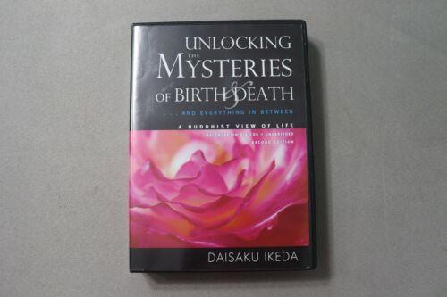Unlocking the Mysteries of Birth & Death 1988 Daisaku Ikeda Buddhism