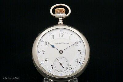Antique Ingersoll Trenton 16 Size 15 Jewel Pocket Watch in Very Nice Condition