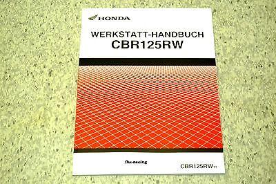 HONDA CBR 125 R , ab 2011 , JC50 , JC 50 , Werkstatthandbuch - Zusatz-Handbuch !