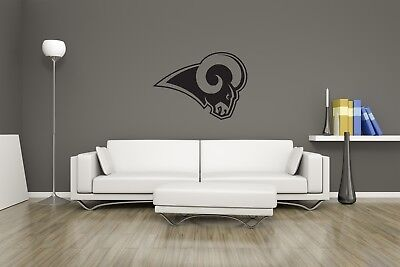 Huge LA Rams Vinyl Sticker Decal Wall Art  / Man Cave