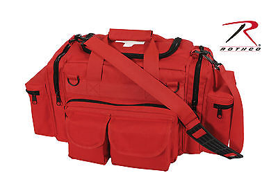 Medic Bag Rothco 2659 Red Ems Rescue Gear Medic Bag W White Medic Cross Logo