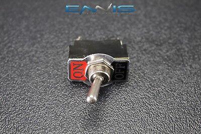 Toggle Switch Spst On Off Toggle 10 Amp 250v 15 Amp 125v 2 Pin Ec-1522