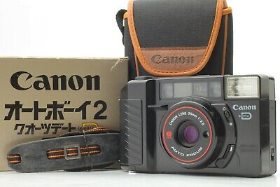 (TOP Mint in Box) Canon Autoboy2 QD AF35M II Point & Shoot 35mm Film Camera