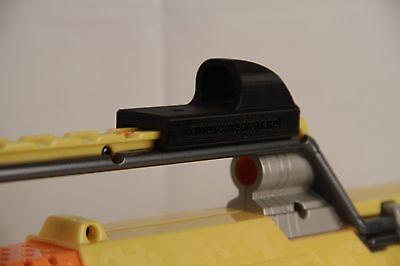 3D Printed -- Nerf Iron Rear Sight for Nerf Dart Gun Blaster