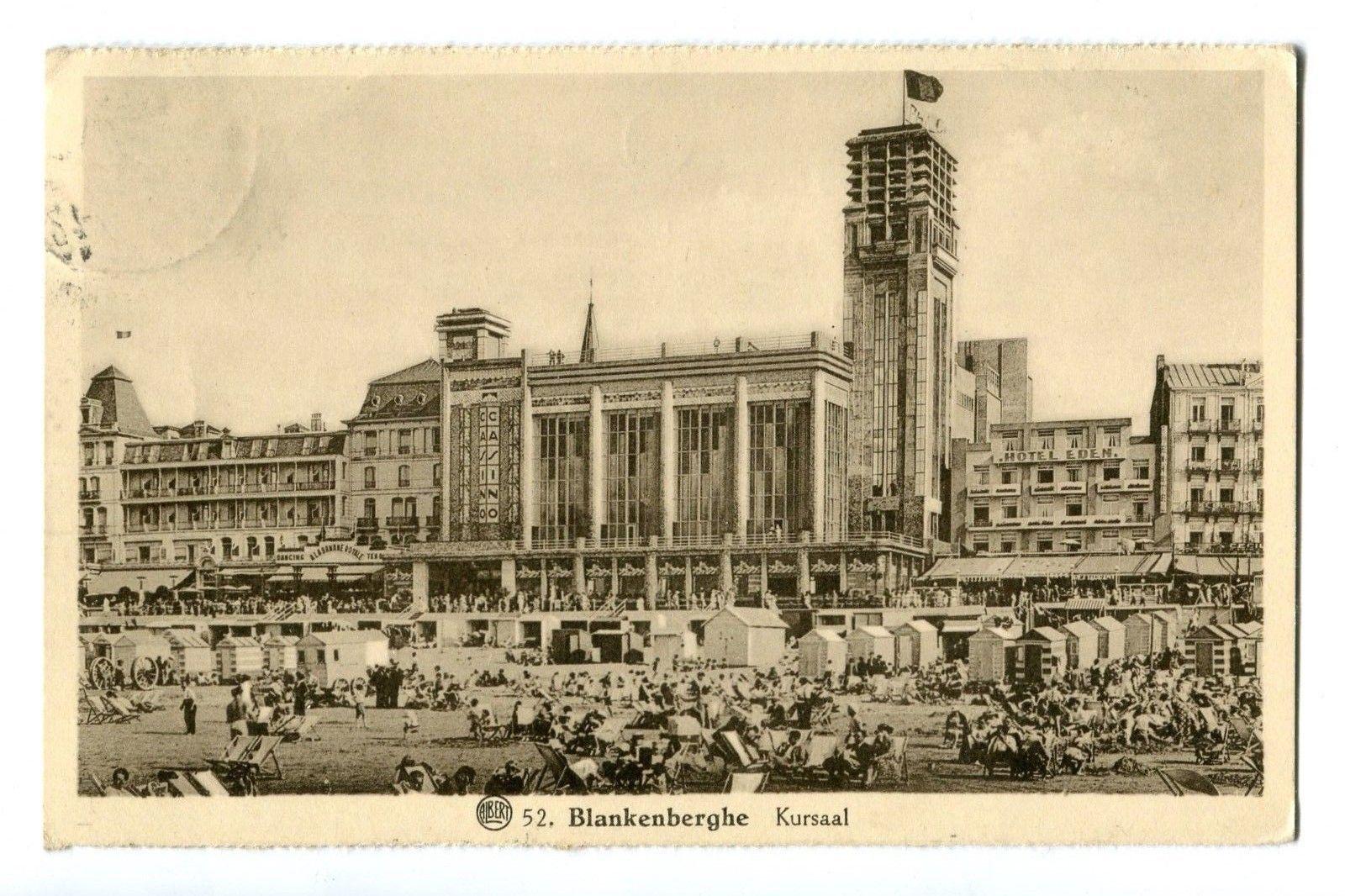 CPA - Carte postale - Belgique - Blankenberge - Kursaal - Années 30 (CP157)