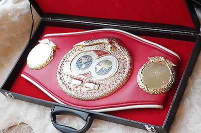 Full size IBF World championship replica boxing belt