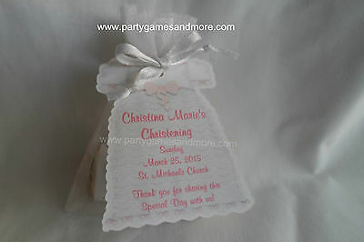 UNIQUE PERSONALIZED GIRLS CHRISTENING GOWN OR BAPTISM GOWN PARTY FAVOR TAGS CUTE](Unique Christening Gowns)