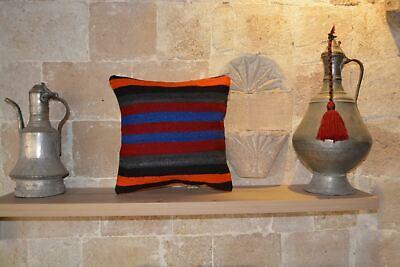 Anatolian Kilim Cushion, Kilim Rug, Cushion, Kilim Cushions, Floor Cushion,