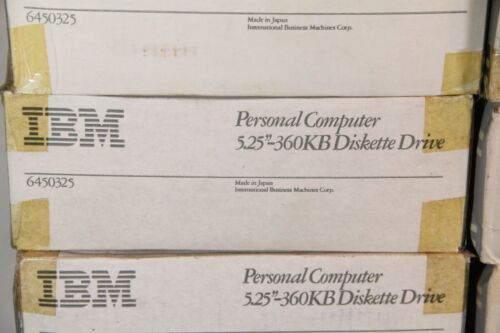 "NOS IBM PC XT / AT 5.25"" 5 1/4"" Half Height Floppy Disk Drive 360KB 6450325"