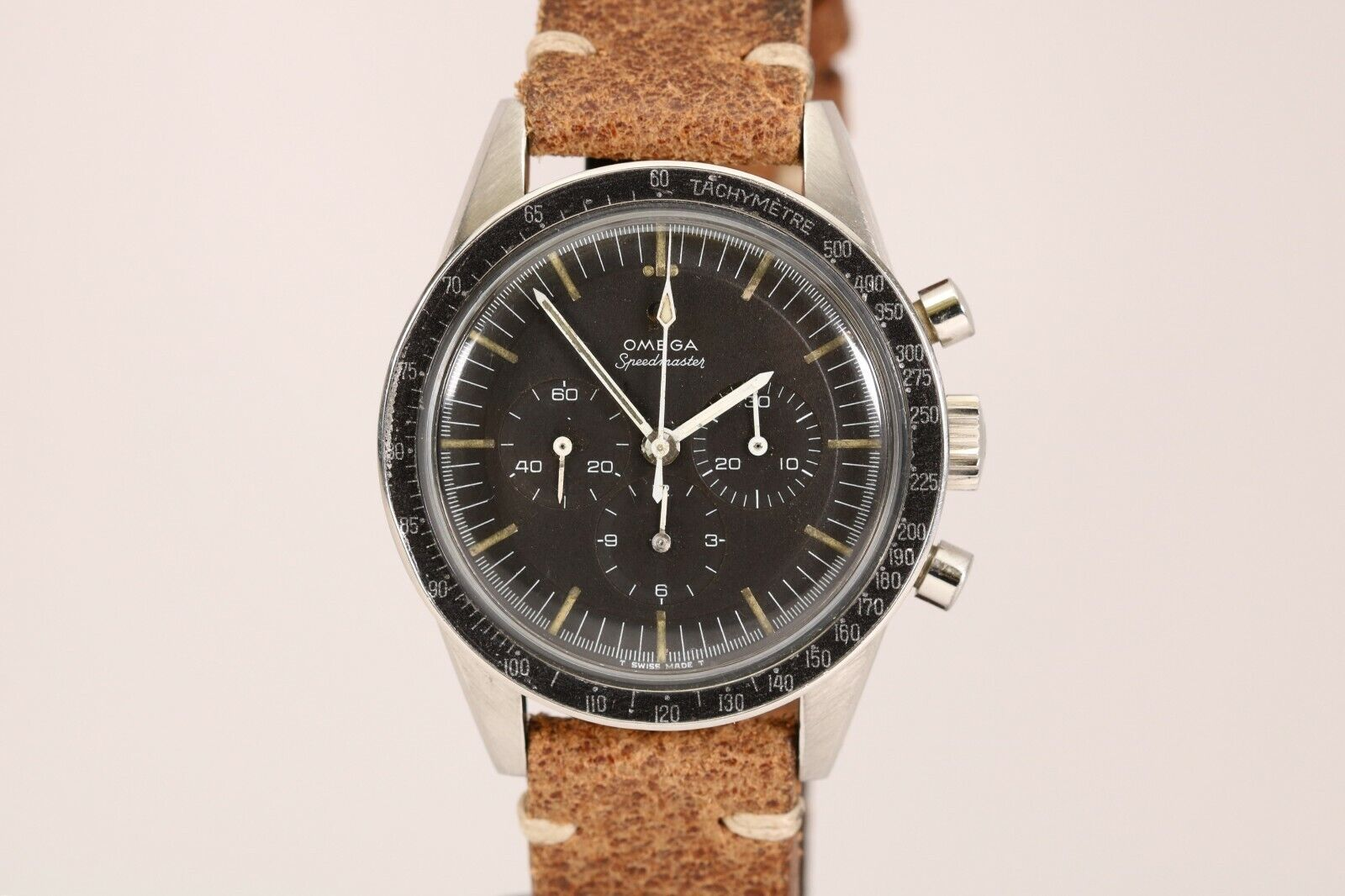 Omega Speedmaster Chronograph Vintage Watch 105.003-65 1960s Cal 321 Ed White - watch picture 1