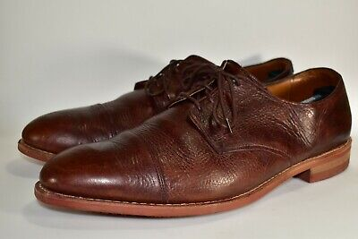 Allen Edmonds Men/'s Oak Street Cap Toe Oxford Brown Style 4691 48661