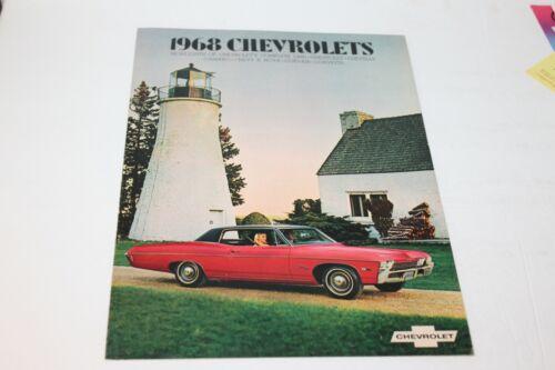 1968 CHEVROLET DEALER  SALES BROCHURE