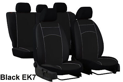 CITROEN C8 5 SEATS 2002-2014 ECO LEATHER SEAT COVERS MADE TO MEASURE FOR CAR
