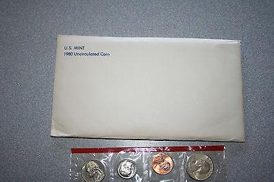 1980 US Coin Mint Set 3 Susan B. Dollars 2 Kennedy Halves Free Shipping 99988000 (1980 Us Mint Set)