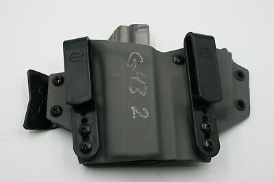 T.Rex Arms Glock 43 Sidecar (2nd) Appendix Rig Kydex Holster