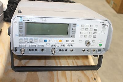 Wandel Goltermann Psm-37 Selective Level Meter 50hz-8mhz