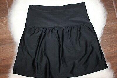 ST JOHNS BAY Black Swimsuit Swim Bottom Skirt Tummy Control High (Bay Swimsuit)