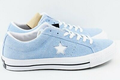 Converse One Star Ox Low Mens Size 12 Suede Shoes Blue Chill 159768C