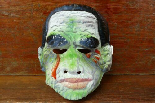 Vintage 1970's Ben Cooper Universal Monsters The Mummy Plastic Halloween Mask