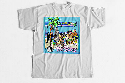 Surf T-Shirt Da Boys 80s vintage style classic surfing fashion tee shirt Hawaii - 80s Boys Fashion