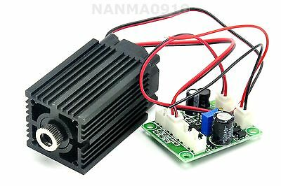 Focusable 500mw 808nm Infrared Ir Laser Diode Dot Module 12v Ttl Fan Cooling
