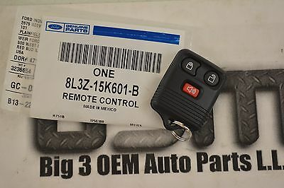 2001-2007 Ford Escape 3 button Keyless Entry Remote Key FOB new OEM 8L3Z15K601B