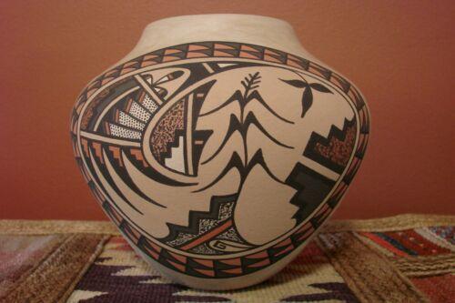 Jemez Pueblo Pottery Jar Signed B J Fragua Excellent Pot Early 90