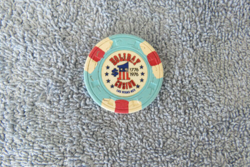 Vintage Holiday Casino $1 Bicentennial Chip