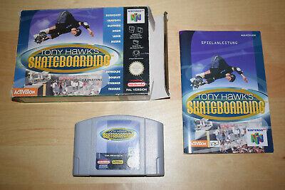 Nintendo 64 *Tony Hawk's Skateboarding* N64 OVP CiB mit Anleitung Pro Skater 2