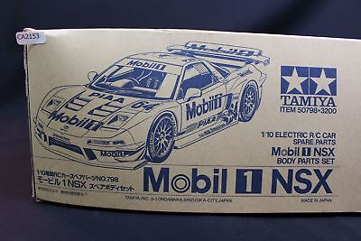 Tamiya Mobil 1 NSX RC Body Parts Set 1/10 Scale Car Plastic Model Kit CA2153