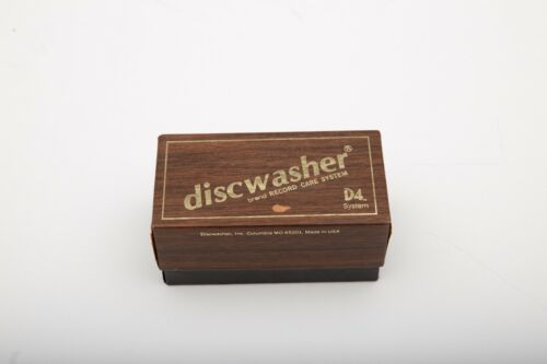 Vintage Discwasher D4 Cleaning Kit