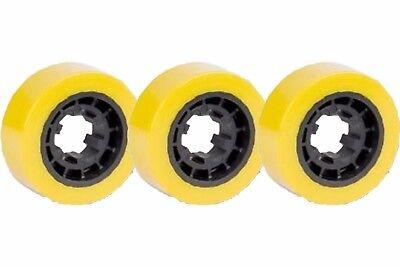 Power Feeder Wheels Set Of 3 - 3  Ro07 Polyurethane