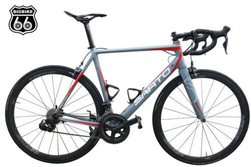 Sarto Dinamica Carbon Road Bike (frame Set) Size L Grey-red