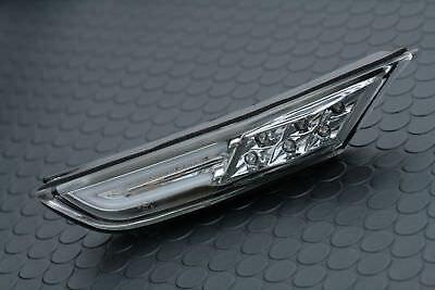 For Nissan GT-R R35 Inner Chrome Side Fender Markers Lights LED Exterior Trim