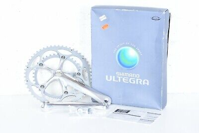 c1bbc10e8d6 Nos Shimano Ultegra Crankset, FC-6500, FC-6503, 9 Speed 175mm 53/39