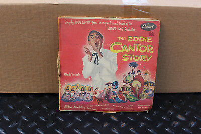The Eddie Cantor Story, Songs by Eddie Cantor, 2- 45 Records Eddie Cantor Songs