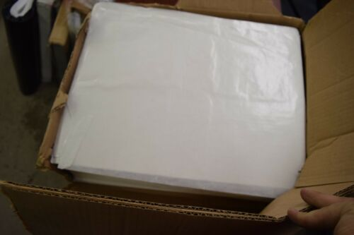 """Box of 14x18 Inch Dry Wax Paper 5""""thick Stack"""