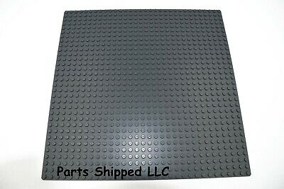 NEW LEGO 32x32 Dark Stone Grey Baseplate 3811 dark bluish gray modular base city