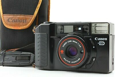 【N.MINT in Case】Canon Autoboy 2 QD /AF35M II made in &from JAPAN #d07【Free Ship】